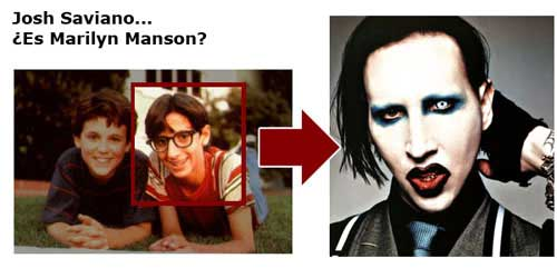 Josh Saviano es Marilyn Manson