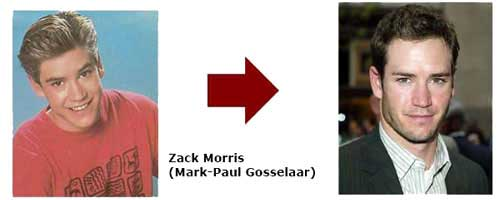 Mark-Paul Gosselaar - Zack Morris