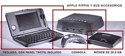 Apple Pippin y sus accesorios