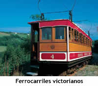 Ferrocarril victoriano de la Isla de Man