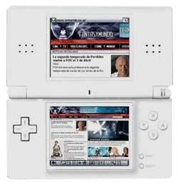 Navegador Opera para Nintendo DS