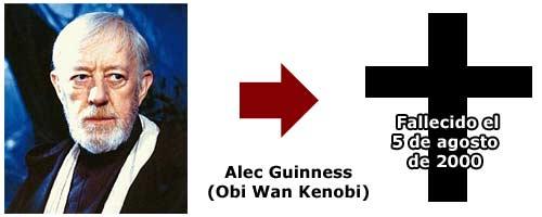 Alec Guinness - Obi Wan Kenobi