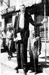 Robert Pershing Wadlow - El ser humano más alto