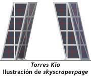Torres Kio - Ilustración