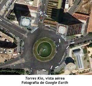 Torres Kio - Fotografía aérea