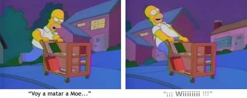Homer Wii