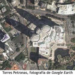 Torres Petronas - Foto aérea