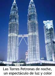 Torres Petronas - Foto nocturna
