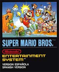 Super Mario Bros - Portada