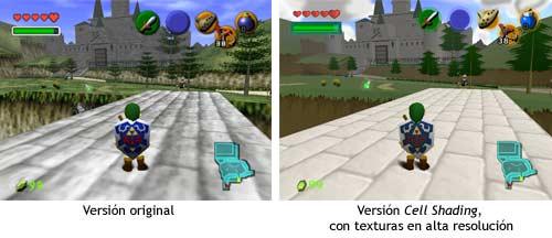 Zelda Ocarina Of Time - Cel Shading