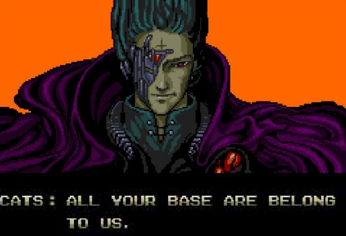 All your base are belong to us - Portada