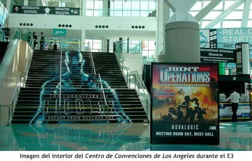 E3 - Interior del Centro de Convenciones de Los Angeles durante el E3