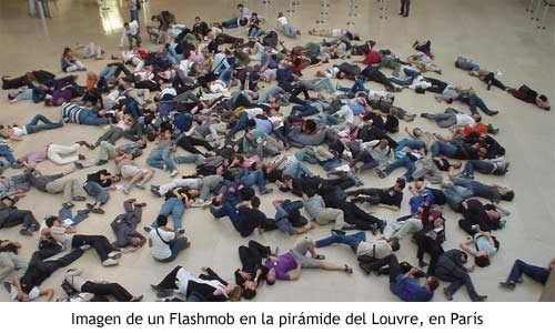 Flashmob en Paris