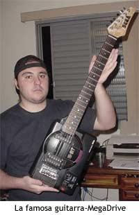 La guitarra MegaDriver