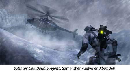 Xbox 360 - Splinter Cell Double Agent