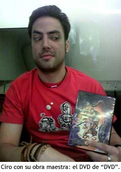 Ciro Altabás y su corto, DVD.