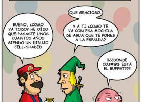 Reunión anual de personajes de Nintendo