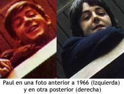 Paul McCartney - antes y despues de 1966