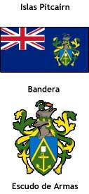 Islas Pitcairn - Banderas