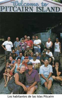Islas Pitcairn - Habitantes