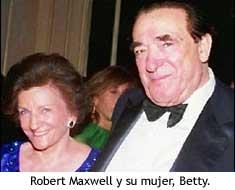 Maxwell y su mujer, Betty