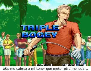 Neo Turf Masters - Triple Bogey