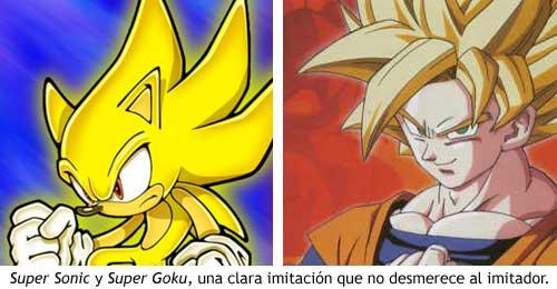 Super Sonic VS Super Goku