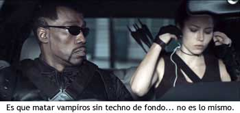 Product placement del iPod en Blade III