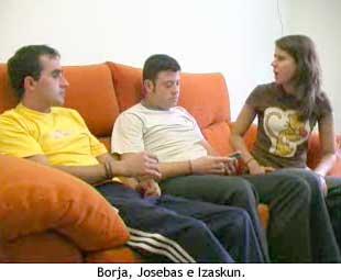 QVMT - Borja, Josebas e Izaskun