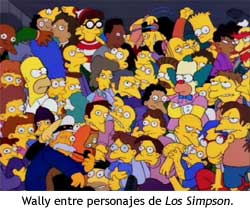 Wally en Los Simpson