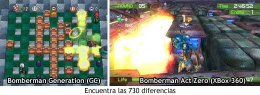 Bomberman Generation VS Bomberman: Act Zero