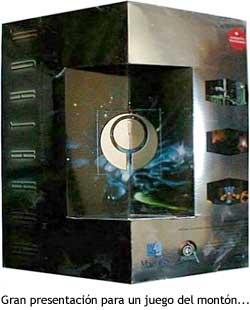 Caja de Marathon, en forma de prisma