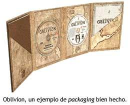 Oblivion, packaging bien hecho