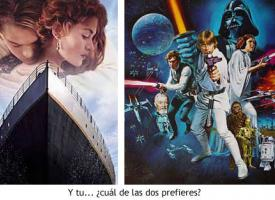Titanic vs Star Wars