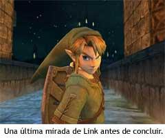 Zelda en el trailer del E3 de 2004
