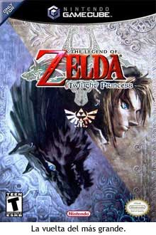 Carátula de Zelda Twilight Princess para GameCube