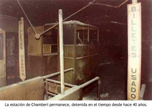 Taquillas de Chamberí, la estación fantasma del Metro de Madrid