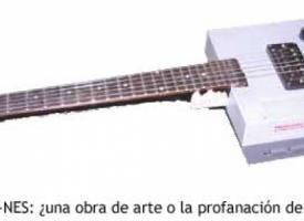 La guitarra-NES