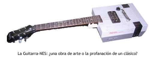 La Guitarra-NES: ¿una obra de arte o la profanación de un clásico?