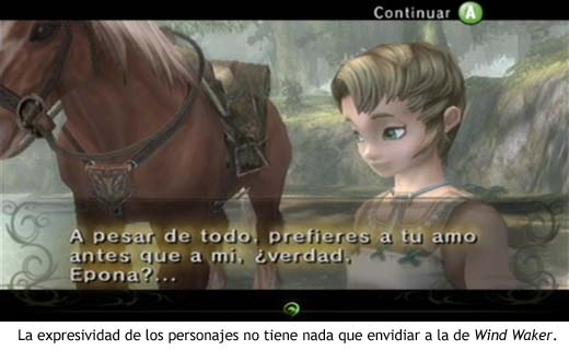 Zelda Twilight Princess - Expresividad