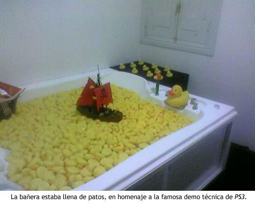 PlayStation suite - Patitos de goma en la bañera