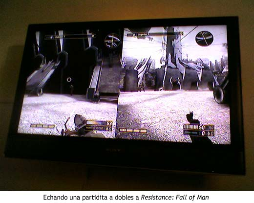 PlayStation suite - Resistance: Fall of Man