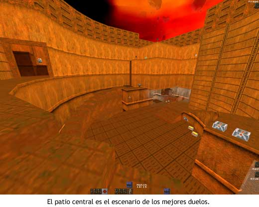 Quake II - The Edge (q2dm1) - Patio