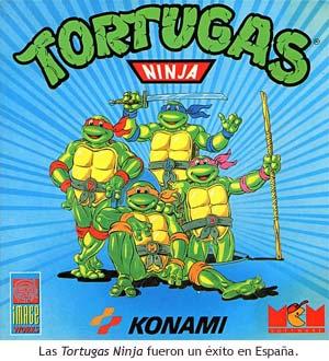 Las Tortugas Ninja fueron un éxito en España