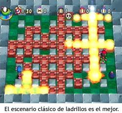 Bomberman - Escenario de ladrillos