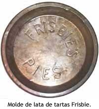 Un plato de tarta de Frisbie Pie's