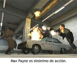 Max Payne es sinónimo de acción.