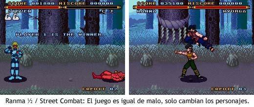 Ranma ½ / Street Combat