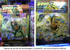 Merchandising de las Tortugas Ninja