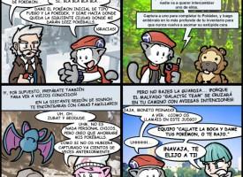 Pokémon Perla y Diamante según VGCats